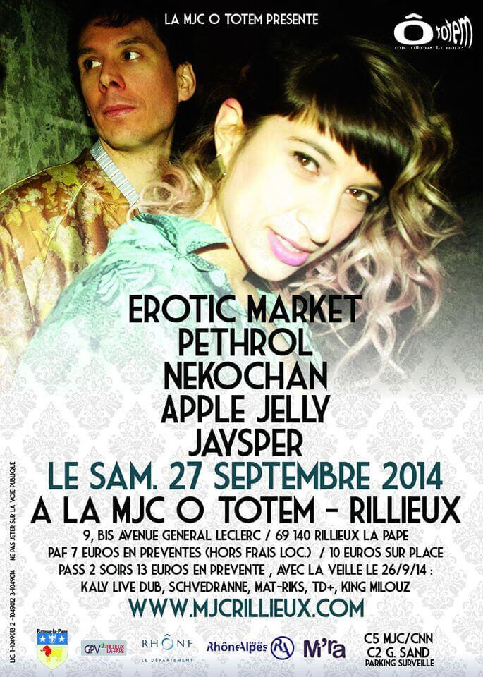 Festival MJC O TOTEM Rillieux-La-Pape
