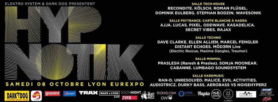 Hypnotik Festival 2016 @ Eurexpo Lyon